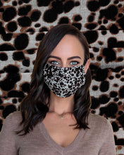Load image into Gallery viewer, Leopard Face Mask