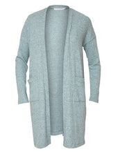 Load image into Gallery viewer, Long Cardigan - Aquamarine