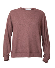 Load image into Gallery viewer, Crewneck Top - Rosewood