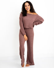 Load image into Gallery viewer, Wide Leg Pant - Rosewood
