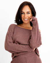 Load image into Gallery viewer, Off the Shoulder Top - Rosewood