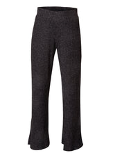 Load image into Gallery viewer, Wide Leg Pant - Marled Black