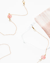 Load image into Gallery viewer, Pink Charm Mask Necklace