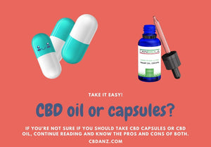 CBD Capsules vs CBD Oil: Which Is Better?