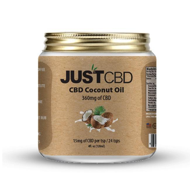JUSTCBD CBD Coconut Oil