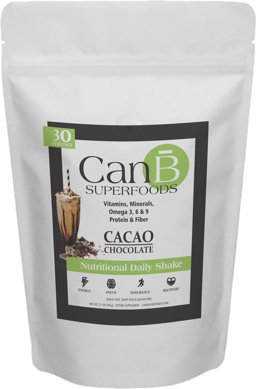1 BAG of CanB Superfoods - 30 Scoops - Powder Mix