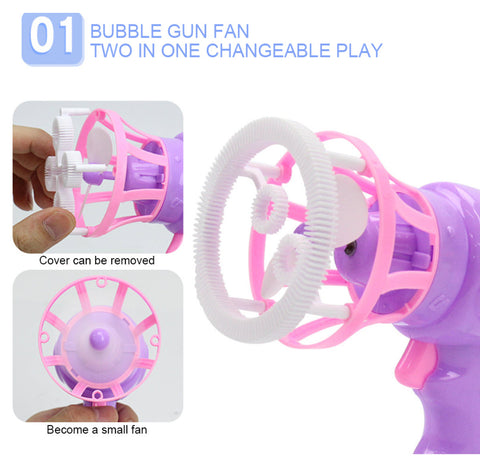 bubble making gun