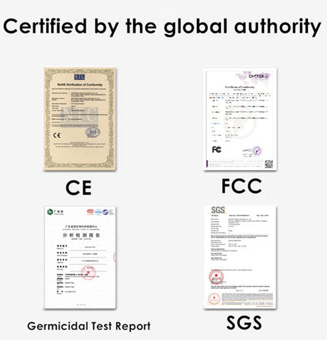 germicidal certification
