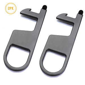 Clean Key (2PK) PRO For Contactless Opening Handles, Key Chain Tool, Push Button, Stylus & Bottle Opener