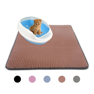 Cat Litter Double Layer Waterproof Mat