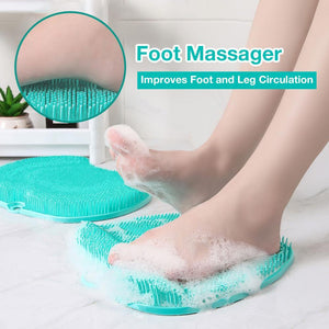 foot massager and scrubber