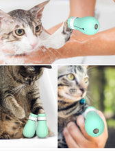Load image into Gallery viewer, Cat Bath Paw Protector Adjustable Anti-Scratch Boots