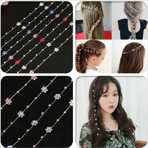Hair Rhinestone Tool Glitter Braid Bridal Wedding Hair Accessories