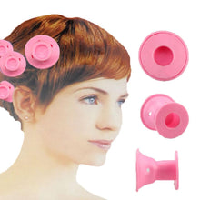 Load image into Gallery viewer, Soft Hair Care Rollers Curler Rubber 10pcs