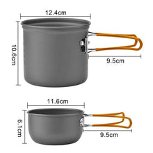Load image into Gallery viewer, Ultra-Light Portable Outdoor Camping Cookware