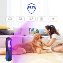 Load image into Gallery viewer, Ultraviolet Portable Hanging Germicidal Light UV Disinfection Sterilizer Lamp 3.5W