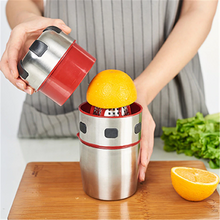 Load image into Gallery viewer, Stainless Steel Portable Juicer