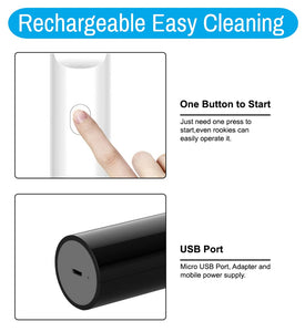 Rechargeable Ultraviolet UV C Light Sanitizer Wand - Best For Phone, Mask, Keys, Travel