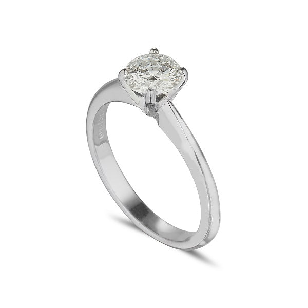 Solitaire ring 4 claw with 74 Point Diamond