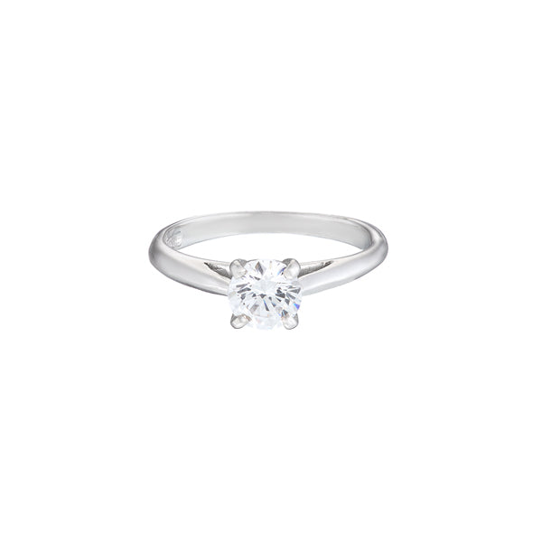Solitaire ring 4 claw with 30 Point Diamond