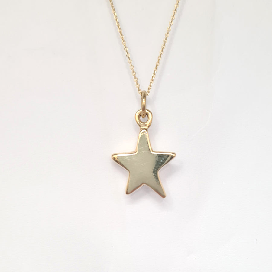 Personalised Star disc and chain