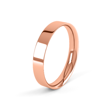 rose gold classic 2mm easy fit wedding ring