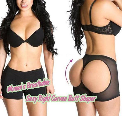 Women's Breathable Sexy Right Curves Butt Shaper