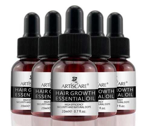5PCS Hair Root Repair Essential Oil