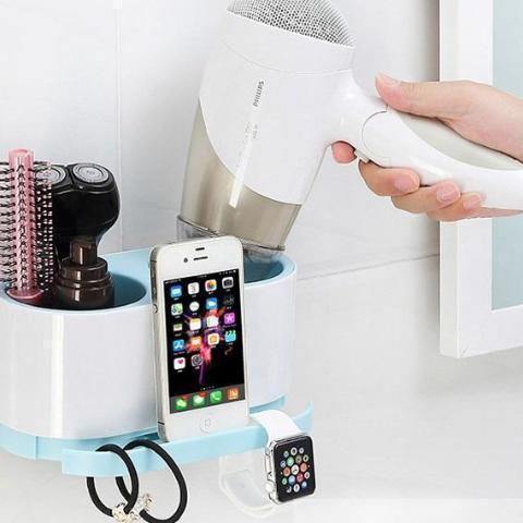 Smart 2-in-1 Bathroom Organizer