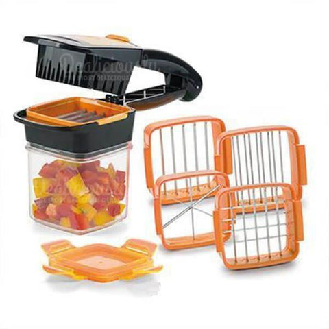 RapidDicer�_� - 5-in-1 Fruit and Vegetable Cutter Set