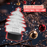 3D Color Changing Christmas Tree Lamp
