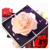 Beautiful Blooming Rose Ring Box