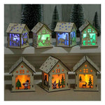DIY Christmas Decoration Flash Log Cabin