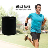 Microfleece 2-in-1 Wrist Wallet Pouch & Sweatband