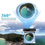 360 Degree Panoramic Tiny Planet Camera Lens for iPhone 7 Plus/8 Plus - Panoclip