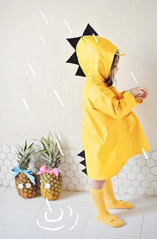 Dinasaur Children's Raincoat