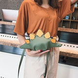 Dinosaur Clutch and Crossbody Bag