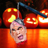 Halloween Zombie Head Decoration Funny Scary Model Figurine Statue