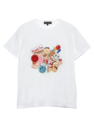 【SALE 30%OFF対象】Happy Day Tシャツ