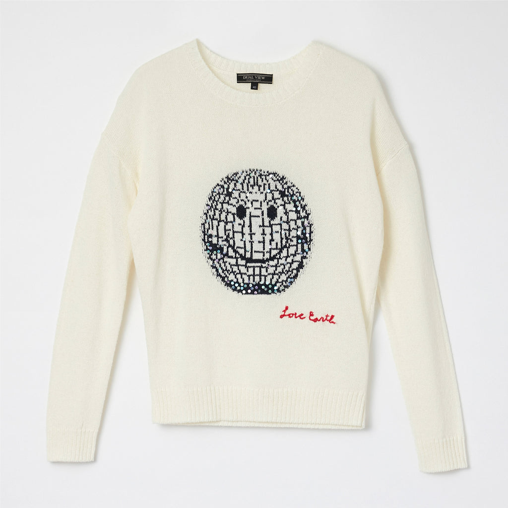 【21SS商品】Smile Motif Knit Pullover