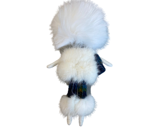 FUR KEY RING