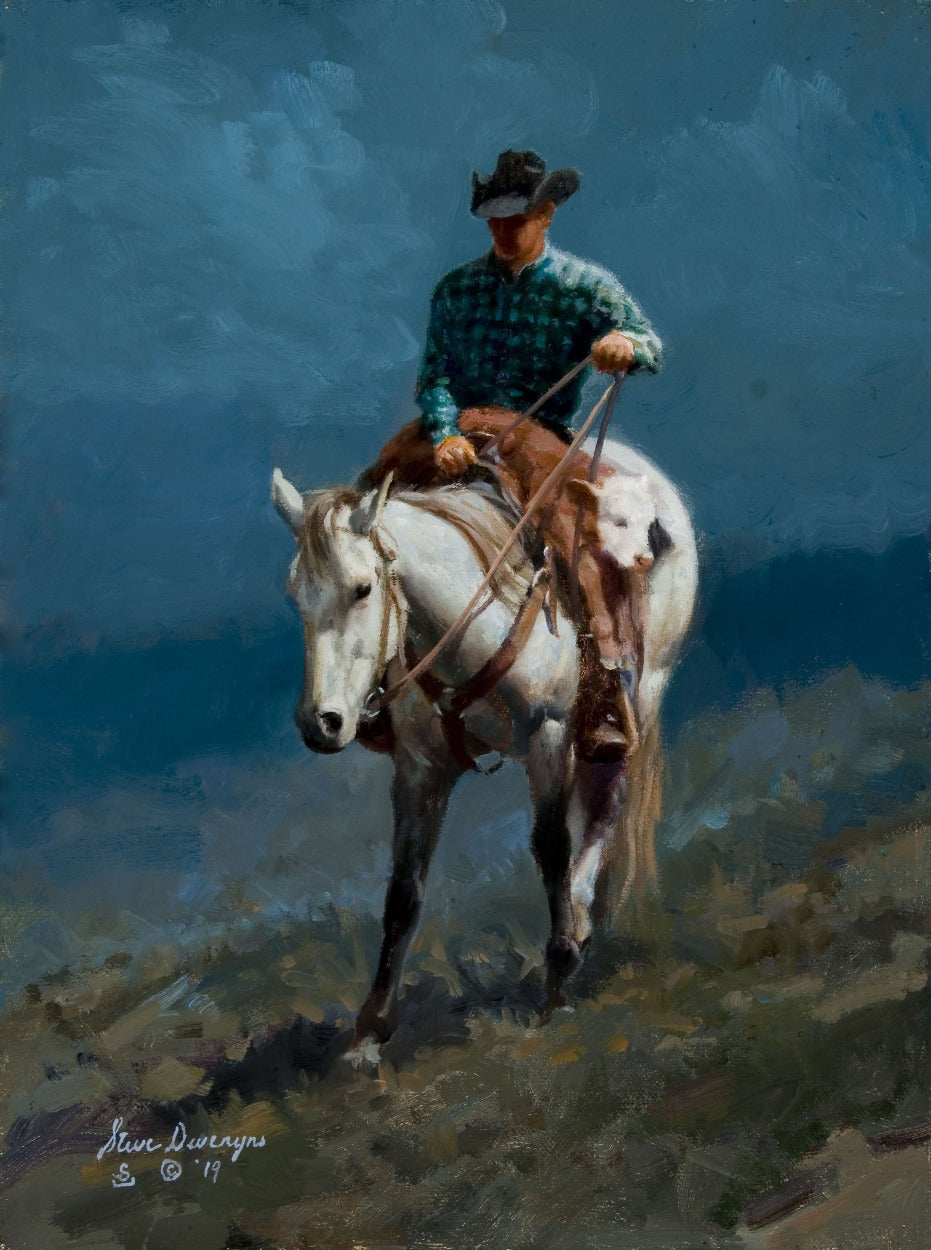 Steve Devenyns, Steve Devenyns Fine Art and Limited Edition Prints, Western Art, Art, Western Paintings, Cowboy Paintings, Western Prints, Cowboys, Cowboy Art, Buffalo Bill Art Show, Prix de West Art Show, Eiteljorg Museum, Quest for the West Art Show,  National Museum of Wildlife Art Show, Western Visions Art Show, Cheyenne Frontier Days Governor's Art Show, Old West Museum, America's Horse in Art Show, George Phippen Memorial Art Show,Ranching Art, Giclee's, Giclee Prints