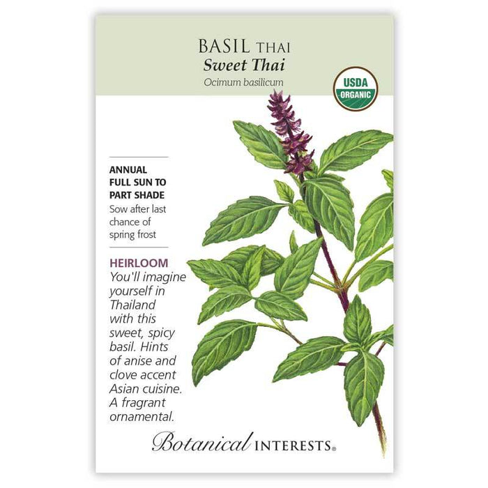 Botanical Interests, Basil, Sweet Thai