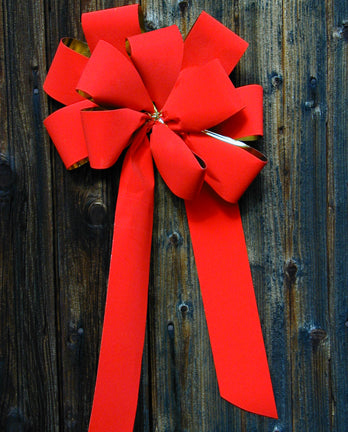 Christmas Bow (Red)