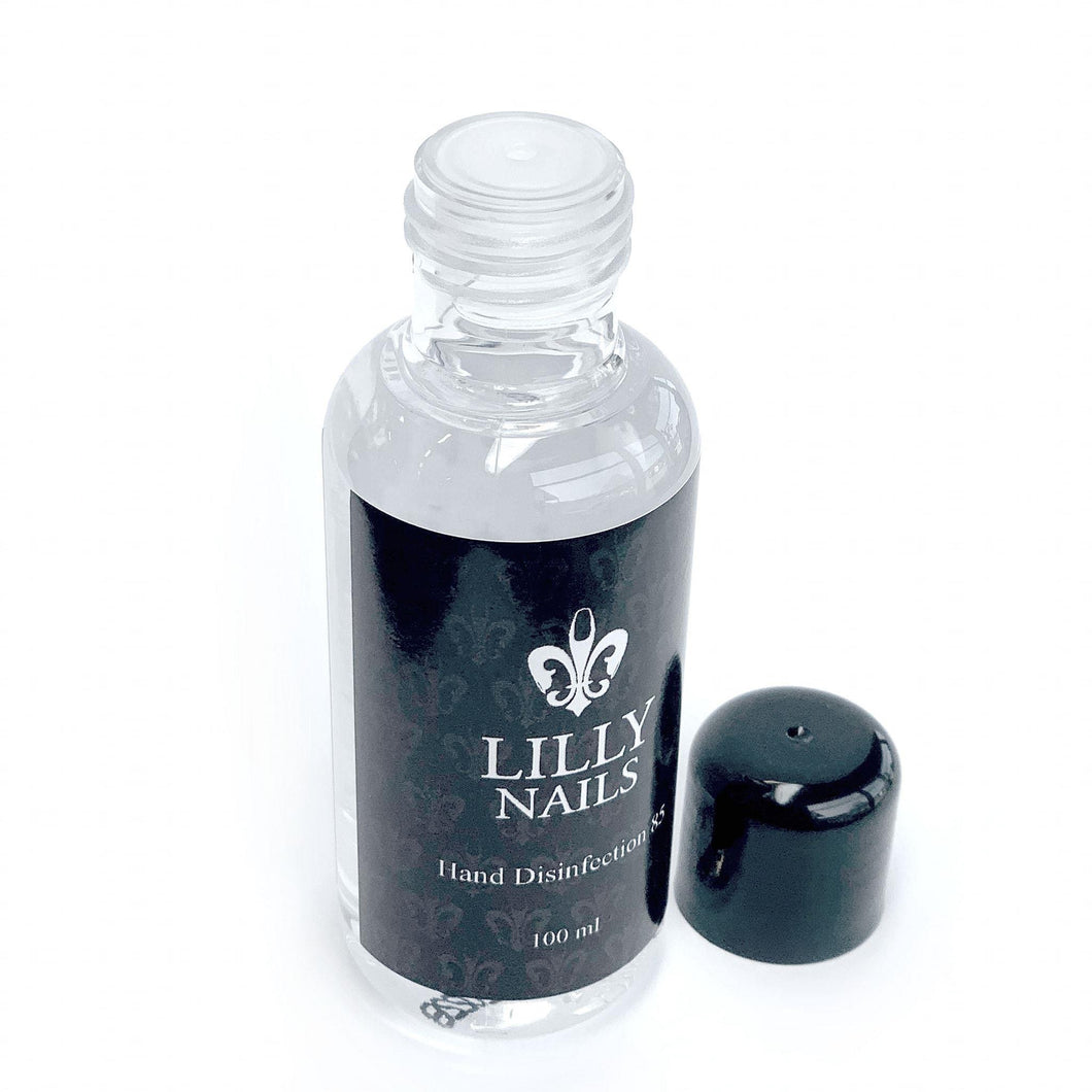 Hand Disinfection 100 ml Lilly Nails