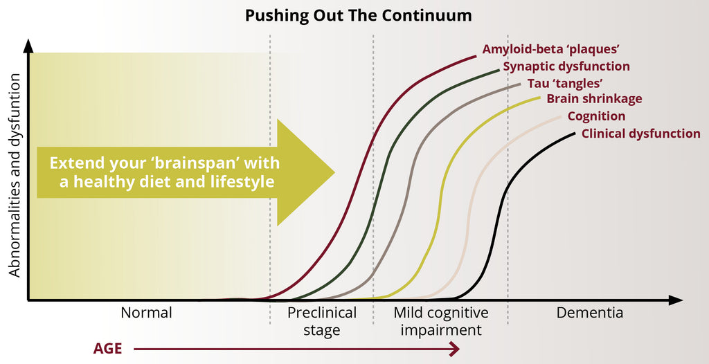 Pushing-out and delaying the Alzheimer's dementia continuum - NeuroReserve
