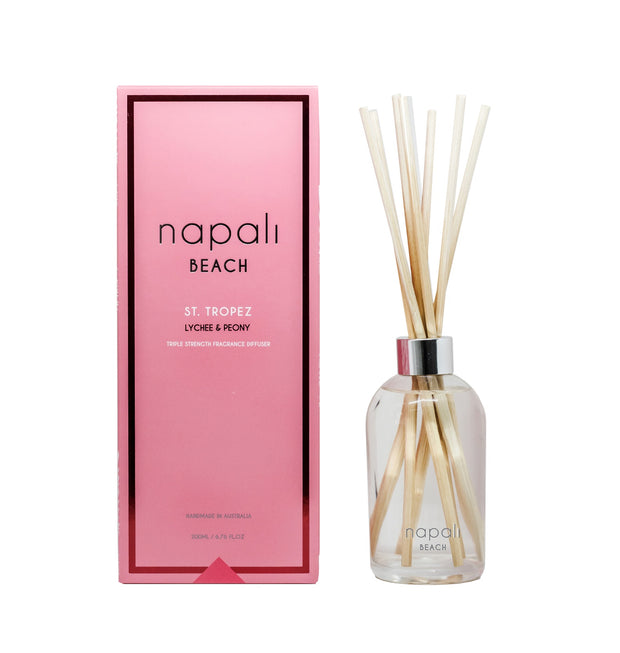 ST. TROPEZ LYCHEE & PEONY DIFFUSER