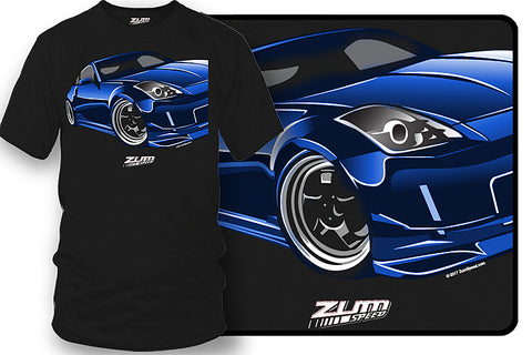 Nissan 350z t shirt - Zum Speed