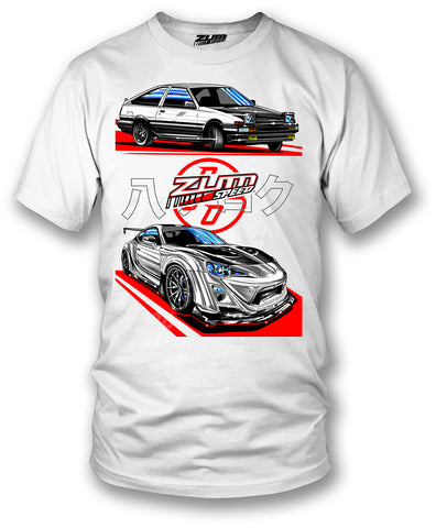 GT86 & AE86  t-shirt - Zum Speed