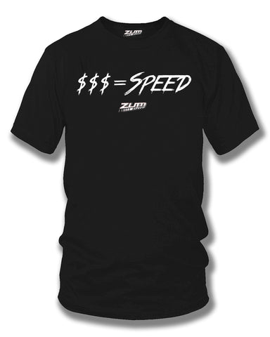 Money equals Speed t-shirt, drag racing, Street racing - Zum Speed